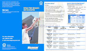 user s manual for paint sprayer graco inc magnum dx online user s manual for graco inc magnum dx page 1
