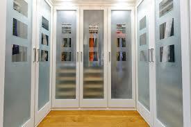frosted mirror closet doors closet traditional with hardwood floor transparent doors transparent doors architecture ideas mirrored closet doors