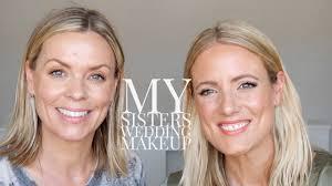 my sisters wedding makeup