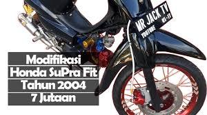 modifikasi honda supra fit tahun 2004