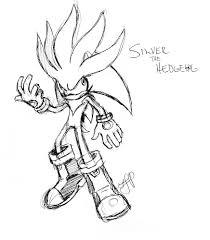 Silver the Hedgehog by arvalis on DeviantArt