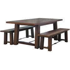 3 Piece Bench Dining Set