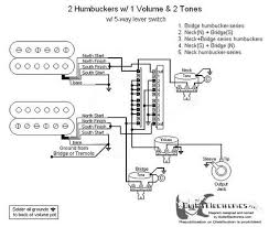humbuckers 5 way lever switch 1 volume 2 tones 05 2 Humbucker 1 Volume Wiring 2 humbuckers 5 way lever switch 1 volume 2 tones 05 wiring diagram 2 humbucker 2 volume 1 tone