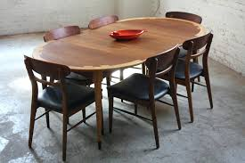mid century round dining tables splendid lane acclaim mid century modern expandable round dining table and
