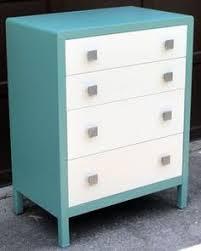 simmons metal dresser. vintage art deco mid century modern bel geddes simmons metal chest drawers | ebay dresser t