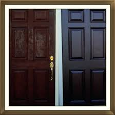 Exterior Door Refinishing Wood Weathered – soulheartist.com
