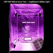 Indoor Grow Box With Lights Plants Lights Grow Tent Box With Full Spectrum Led Grow Light For Indoor Greenhouse Hydroponics
