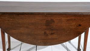 Drop Leaf Round Dining Table Queen Anne Walnut Drop Leaf Round Dining Table And Console At 1stdibs