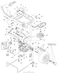 Simplicity 1694804 regent 18hp hydro ce export parts diagram