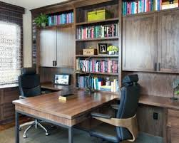 small home office 5. 5 Unique Small Modern Home Office Design Ideas C