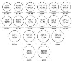Ladies Ring Size Chart Image Result For Ladies Ring Size Chart Printable Australia