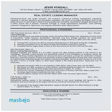 Leasing Agent Sample Resume Outstanding Leasing Consultant Resume