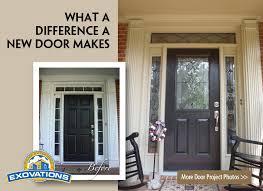 installing front doorReplace Glass Exterior Door  Home Interior Design
