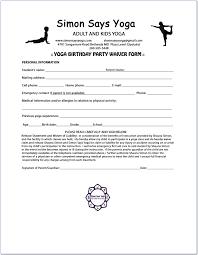 Microsoft Word Registration Form Yoga At Bannockburn Marchd Form