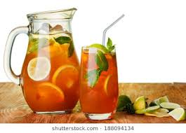 iced tea pitcher clipart. Unique Clipart Iced Tea In The Pitcher And Glass Jug Of Cold Iced Drink With Lemon Inside Tea Pitcher Clipart