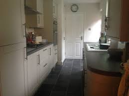 Kitchen Tiled Walls Finished Kitchen Howdens Burford Grey Kitchen Units Rough Slate