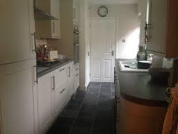 Kitchen Floor Units Finished Kitchen Howdens Burford Grey Kitchen Units Rough Slate