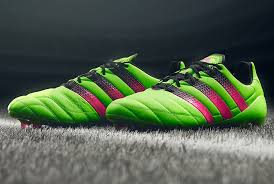 australia 2018 adidas ace 16 1 fg ag leather solar green shock pink core black er
