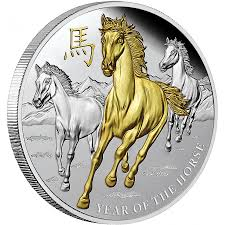Image result for gold coin horse images