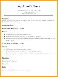 Proper Format For A Resume Magnificent proper resume format districte48