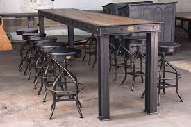 industrial furniture table. Firehouse Bar Table Industrial Furniture E