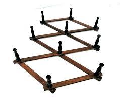 accordion coat racks expandable clothes rack expandable coat rack accordion peg vintage wooden wall organizer folding