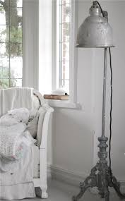 Old vintage floor lamp - for shabby chic interiors