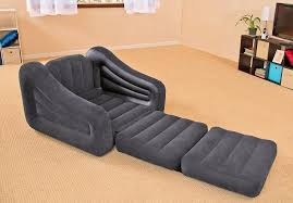 inflatable pull out sofa chair twin bed intex blow up chair converts into