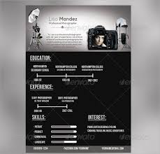 Photography Resume Templates New 28 Sample Photographer Resume Templates To Download Sample Templates