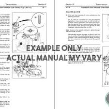 case 1845c skid steer loader service repair manual mypowermanual equipment repair manual sample