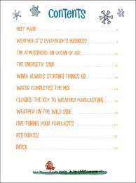 Kids Book of Weather Forecasting 012151 Details Rainbow Resource