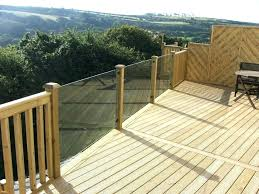 plexiglass deck railing railing stairs decking glass deck for classy material ideas balcony railings systems stair