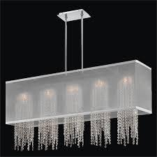 crystal strand chandelier omni 627am44sp w 7c