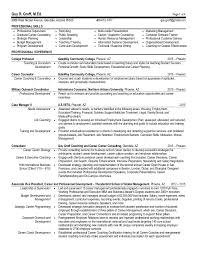 Career Advisor Resume Inspiration Guy R Groff Resume