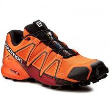 Speedcross V0 Flame 392401 27 red Salomon black Dalhia Παπούτσια - 4