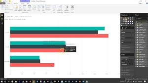 How To Create Group Or Clustered Bar Chart In Power Bi