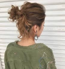 かわいい髪の結び方で暑い季節を乗り切ろうおしゃれなアレンジ17選