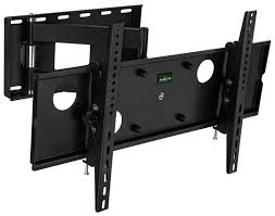 com mount it articulating wall mount full motion lcd tv bracket with extendable swing out arm 32 to 65 inch compatible with vesa 200Ã 200