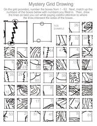 Drawing Activity To Teach The Grid