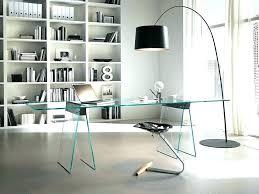 modern glass office desk full size of glass office furniture modern executive desk for second hand