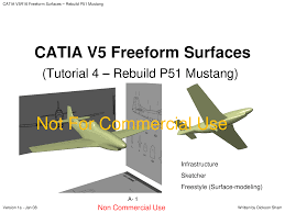 Catia Aircraft Design Tutorial Pdf Catia Tutorial 4 Freeform Surfacing Modelagem No Catia