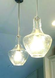 vintage led crystal glass pendant lights ceiling lamps 4 style industrial light ac pendants seeded shade