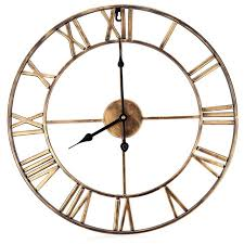 Small Picture Aliexpresscom Buy 3D Iron Retro Decorative Wall Clock Big Art
