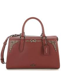 Coach x Selena Gomez Crystal Embellished Bond Bag