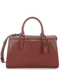 Coach x Selena Gomez Crystal Embellished Bond Bag