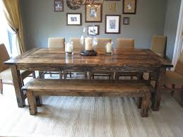 farmhouse dining room table how to make a diy throughout idea 17
