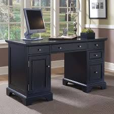 black computer desk ikea