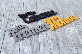 custom set mr and mrs last name personalized wooden wedding signs letter sign table wall decor