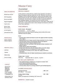 Accounting Resume Sample 15 Accountant Example Job Description