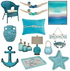 Turquoise Decorative Accessories awesome Blue Decor Accessories in Turquoise Aqua for a Splash of 61